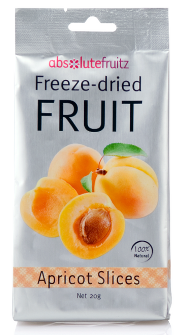 Absolute Fruitz Freeze Dried Apricot 18g x 36