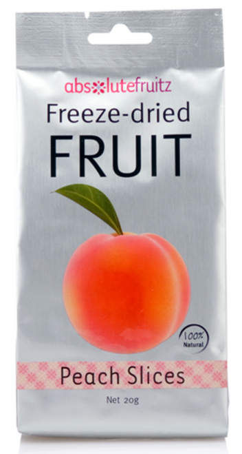 Absolute Fruitz Freeze Dried Peach 18g x 36