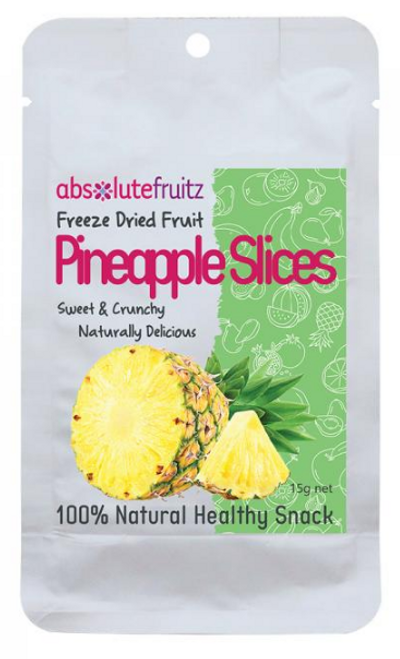 Absolute Fruitz Freeze Dried Pineapple 15g x 36