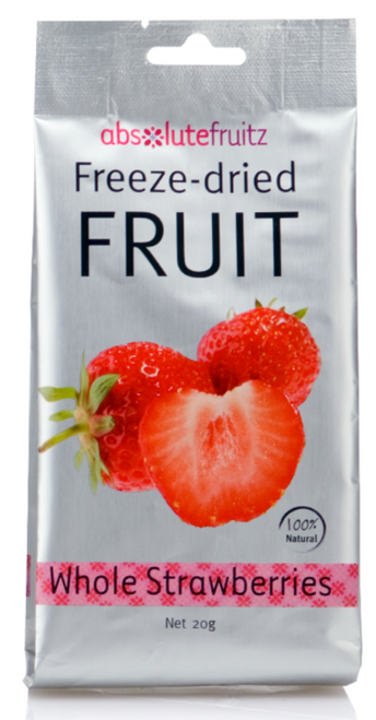 Absolute Fruitz Freeze Dried Strawberry 18g x 36