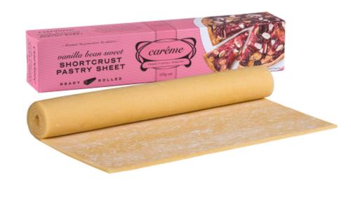 Careme Pastry Vanilla Bean Crust  Pink 435g x 12