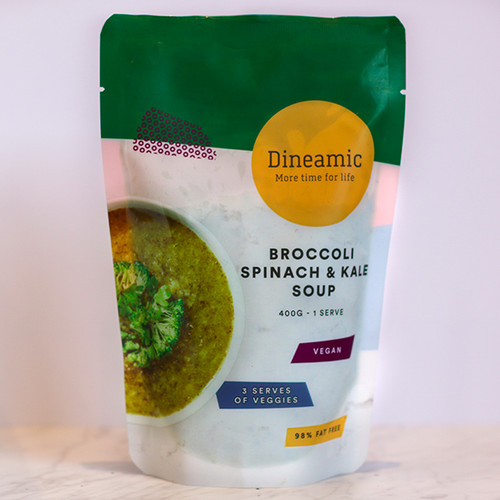 Dineamic Soup Broccoli Spinach & Kale 400g x 12