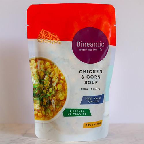 Dineamic Soup Free Range Chicken & Corn 400g x 12