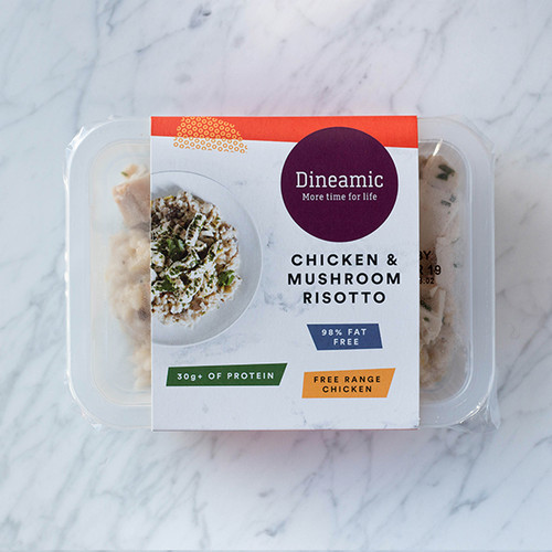 Dineamic Meal Tray Chicken Mushroom Risotto 360g x 5