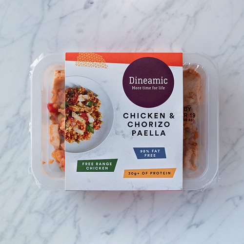 Dineamic Meal Tray Chicken Chorizo Paella 360g x 5