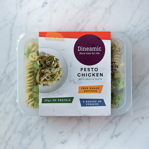 Dineamic Meal Tray Chicken Broccoli & Pesto Pasta 360g x 5