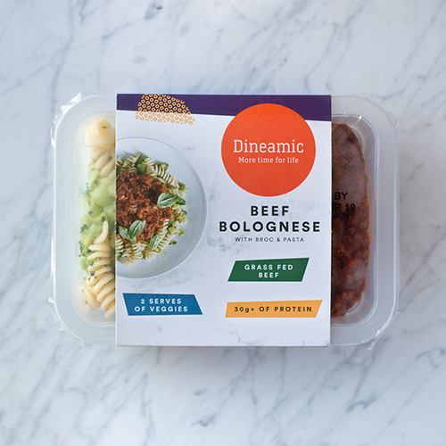 Dineamic Meal Tray Beef Bolognese w/ Pasta 360g x 5