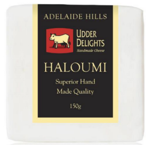Adelaide Hills Udder Delights Haloumi 150g x 3