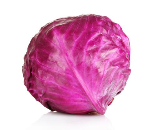 Cabbage Red Organic Each Heavy Heads (Busch)