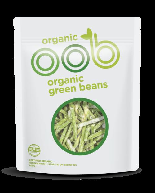 OOB Organic Green Beans 400g x 20