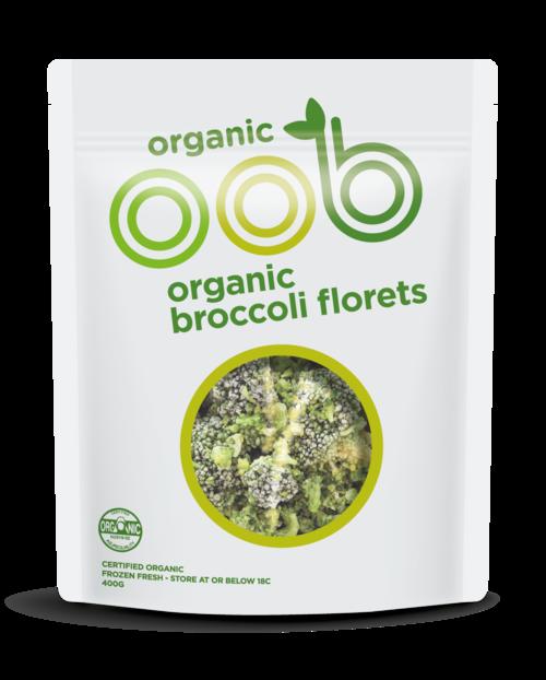 OOB Organic Broccoli 370g x 20