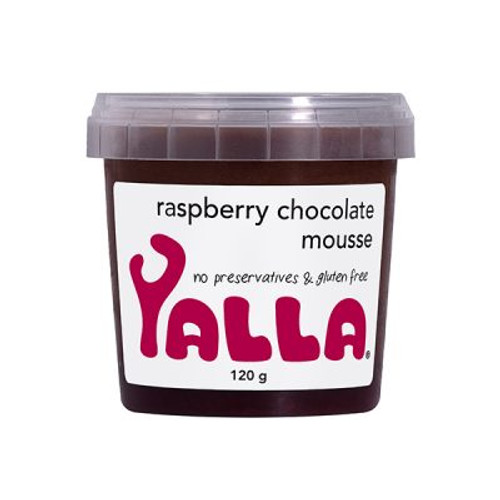 Yalla Raspberry Chocolate Mousse 120g x 16 (Pre-Order Item)