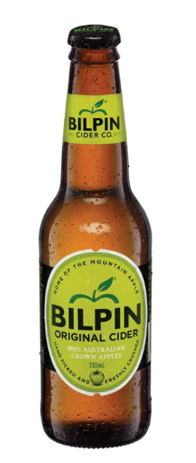 Bilpin Cider Co Sparkling Apple Cider 330ml x 48