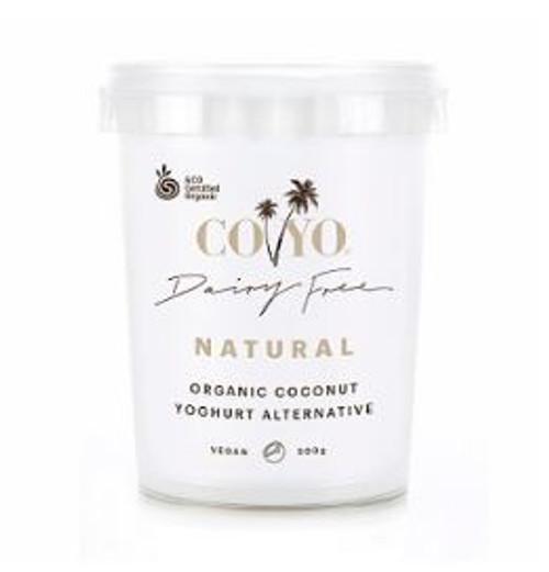 Co Yo Coconut Yoghurt Organic Natural 500g