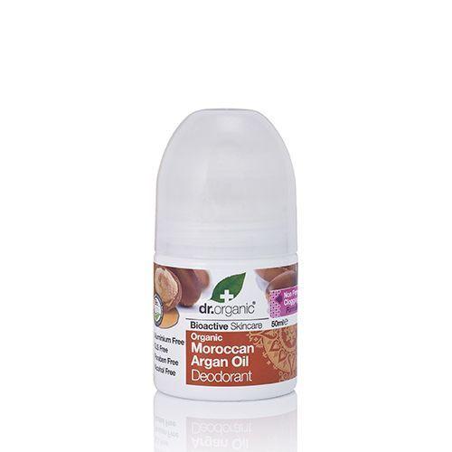 Dr Organic Bioactive Skincare Roll-on Deodorant Moroccan Argan Oil 50ml