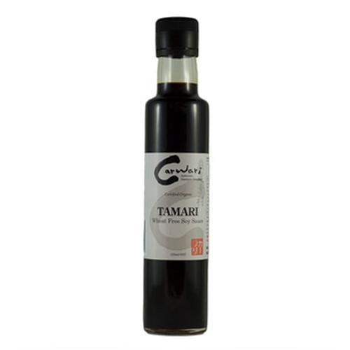 Carwari Organic Tamari Wheat Free Soy Sauce 250ml