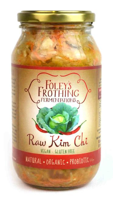 Foley's Frothing Fermentations Raw Kim Chi, 500g