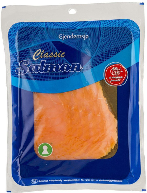 Gjendemsjo Norwegian Smoked Salmon, 100g