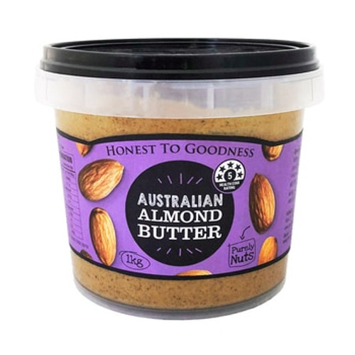 Honest to Goodness Almond Butter 1Kg x 2 (Pre-Order Item)
