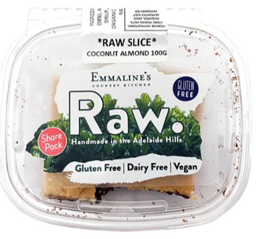 Emmaline's Raw Coconut Slice 150g x 8