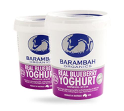 Barambah Organics Yoghurt Blueberry 200g x 12