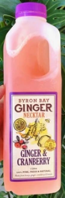 Byron Bay Ginger & Cranberry 1L x 12