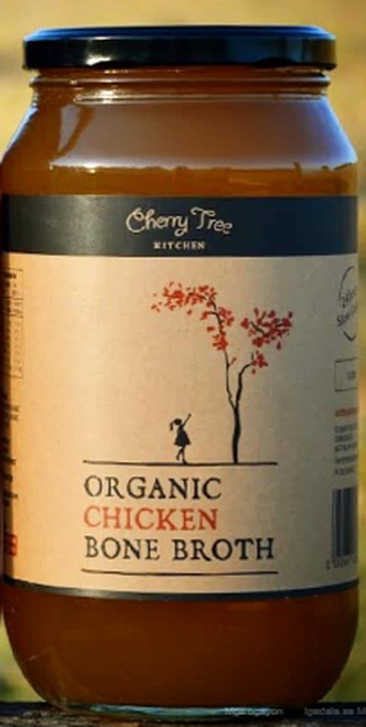 Cherry Tree Kitchen Organic Chicken Bone Broth 500ml x 12