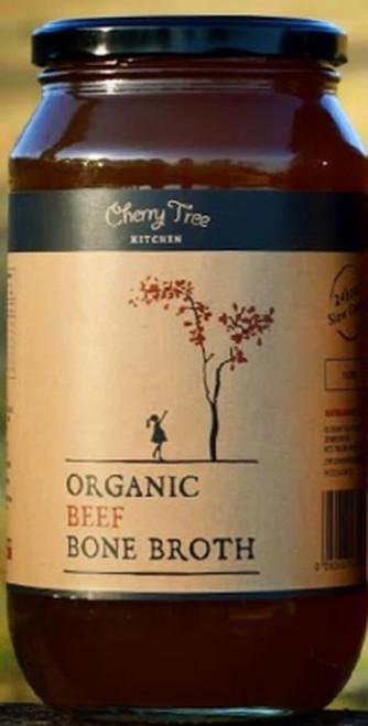 Cherry Tree Kitchen Organic Beef Bone Broth 500ml x 12