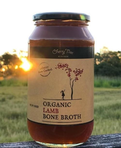 Cherry Tree Kitchen Organic Lamb Bone Broth 1L x 6