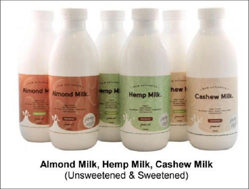 Where The Wild Things Grow Almond Milk - Unsweetened 750ml