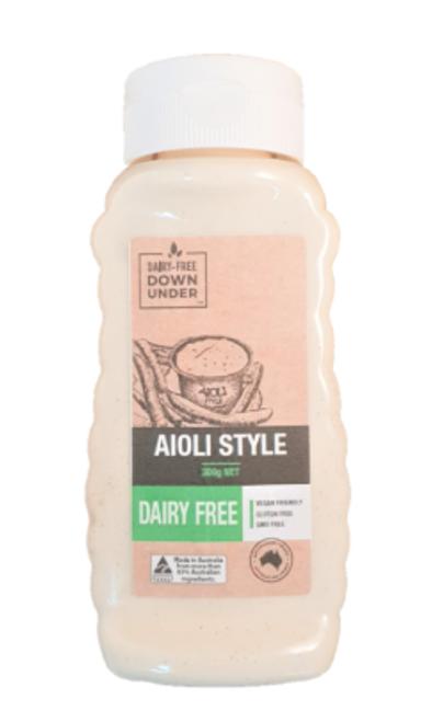 Dairy Free Down Under Aioli Style 300g x 6