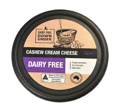 Dairy Free Down Under Cashew Cream Cheese 150g x 12
