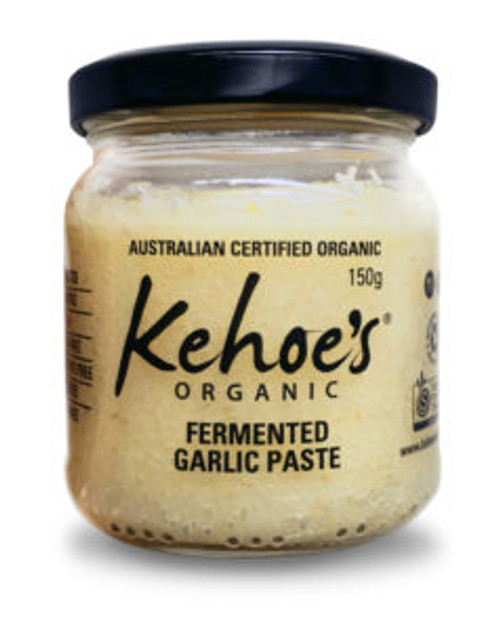 Kehoe's Kitchen Organic Fermented Garlic Paste 200g x 12