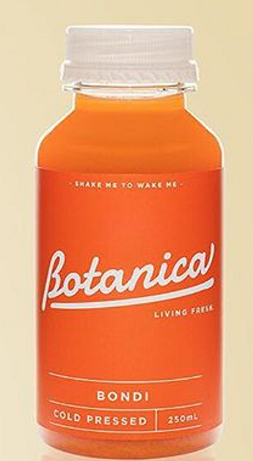 Botanica Cold Pressed Vegan Probiotic Bondi Juice 250ml