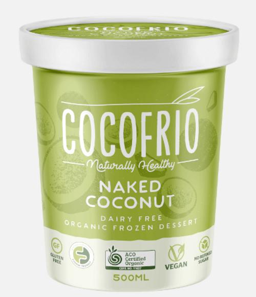 Cocofrio Ice Cream Naked Coconut 500ml x 6