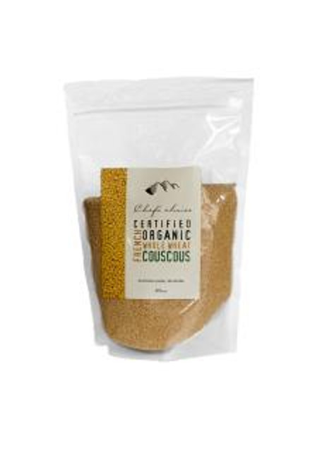 Chef's Choice Organic French Couscous 500g Packets x 7