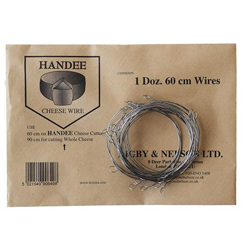 Handee Cheese Cutter Wires 60cm Packets 12pk