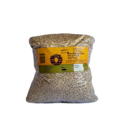 Mount Zero Biodynamic Pearl Barley - FS 2kg Bags x 2