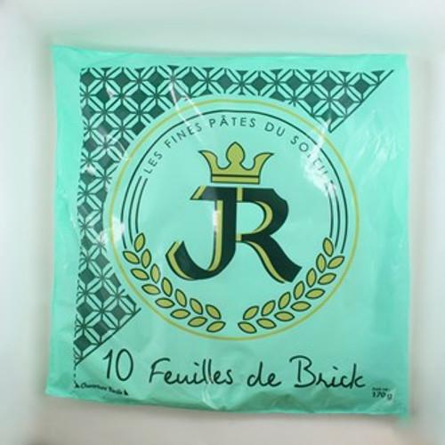 Feuilles de Brick - Les fines pâtes du Soleil Brick Pastry 170g 10-Packets x 4