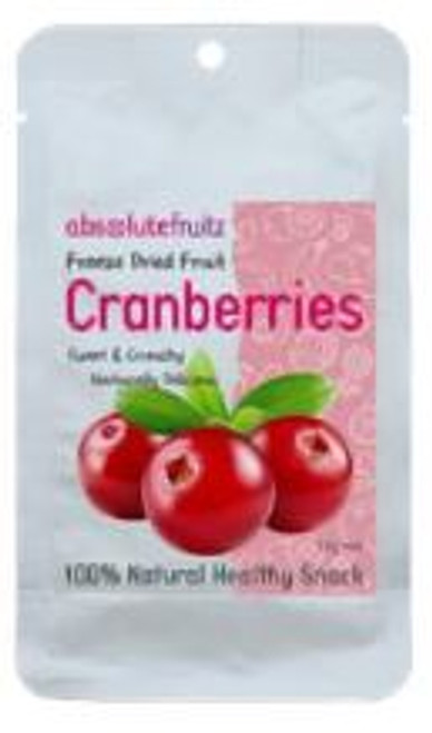Absolute Fruitz Freeze Dried Cranberry 15g x 36