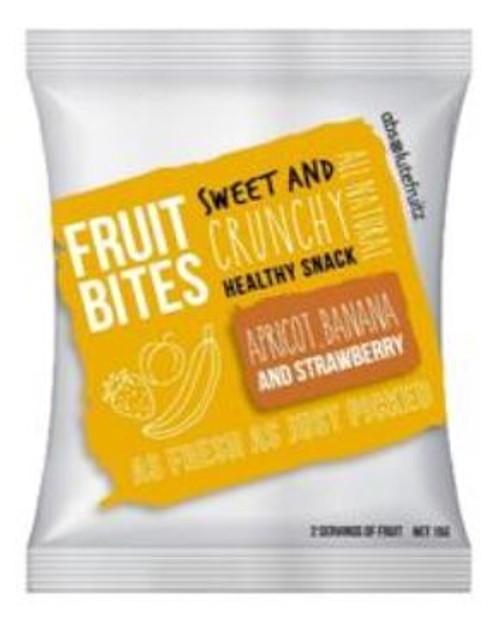 Absolute Fruitz Fruit Bites Apricot Banana Strawberry 15g x 12