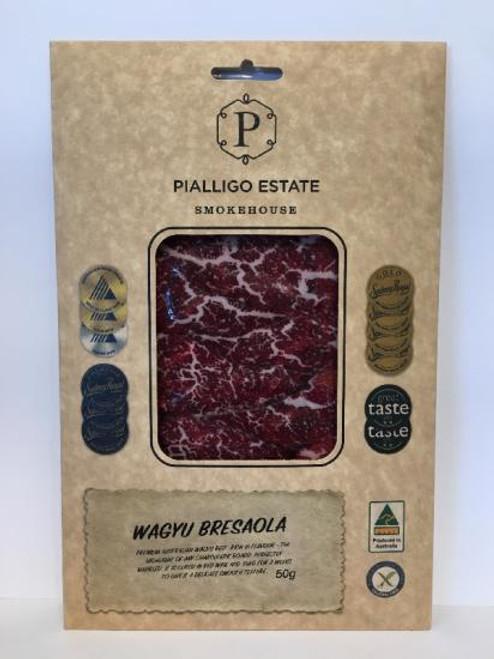 Pialligo Estate Beef Bresaola Wagyu  Sliced 50g  x 5 (Pre-Order)