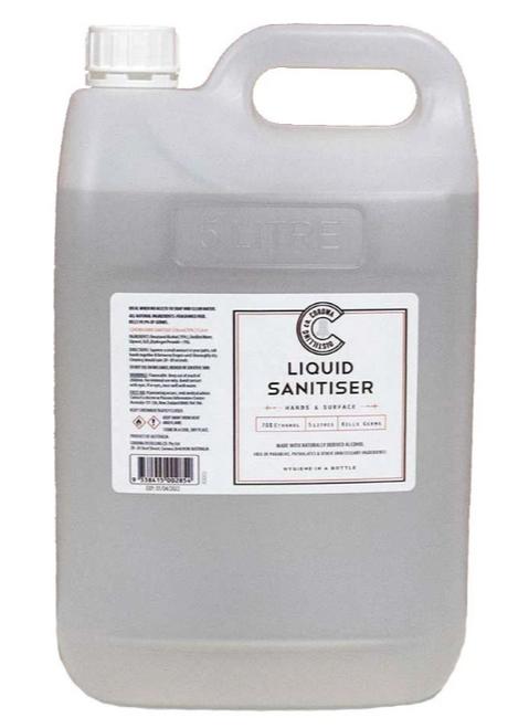 Corowa Distilling Co Liquid Sanitiser 5L