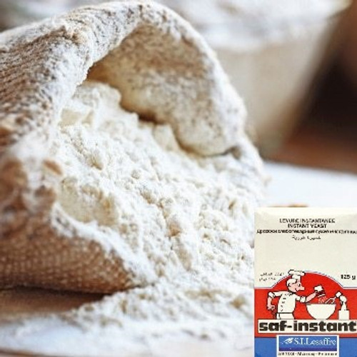 Ultimate Baker's Bundle (1 x Demeter Farm Mill Organic Unbleached White Bakers Flour 5Kg + 1 x Lesaffre SAF Natural Instant Dried Yeast 125g)