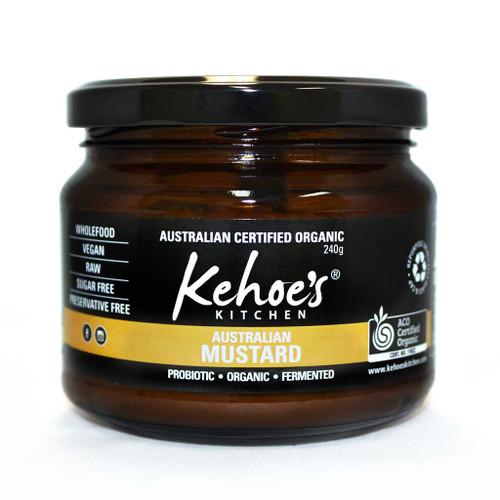 Kehoe's Kitchen Australian Mustard 240g  x 8
