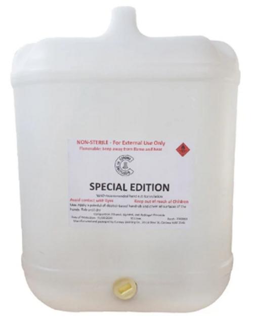 Corowa Distilling Co Liquid Sanitiser 20L