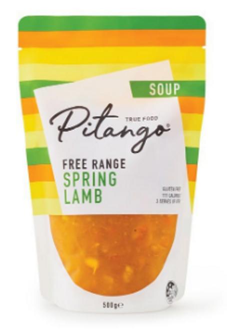 Pitango Free Range Spring Lamb Soup 500g x 6