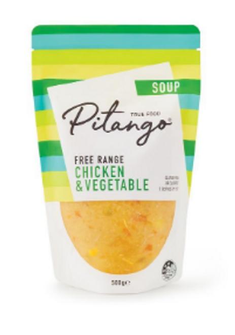 Pitango Chicken & Vegetable Soup 500g x 6