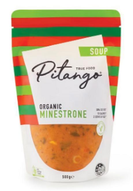 Pitango Organic Minestrone Soup 500g x 6