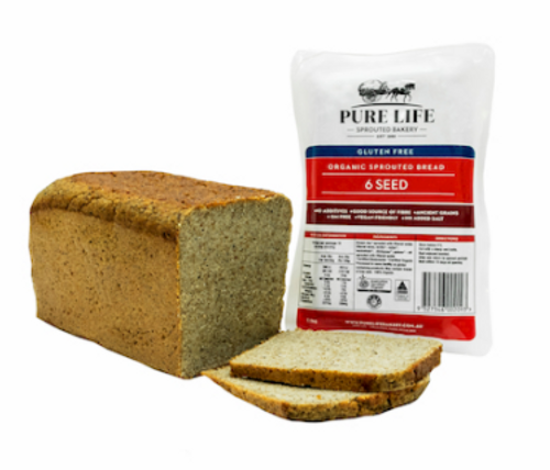 Pure Life 6 Seed Gluten Free Organic 1.1Kg x 10 *DELETED LINE PER SUPPLIER*